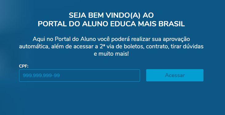 Tirar a 2 Via do Boleto Educa Mais Brasil